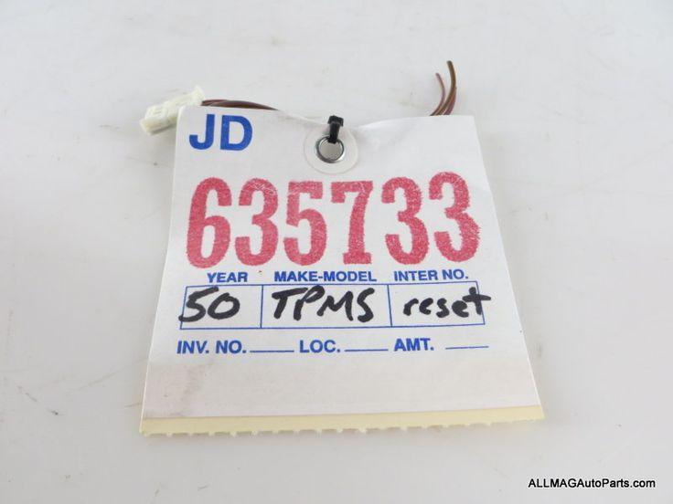 2002-2008 Mini Cooper Tire Pressure Control Switch TPMS Wire 50 61316909518