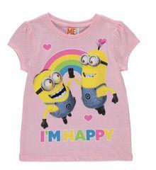 DESPICABLE ME ~ I'm Happy T-Shirt | Little Gecko