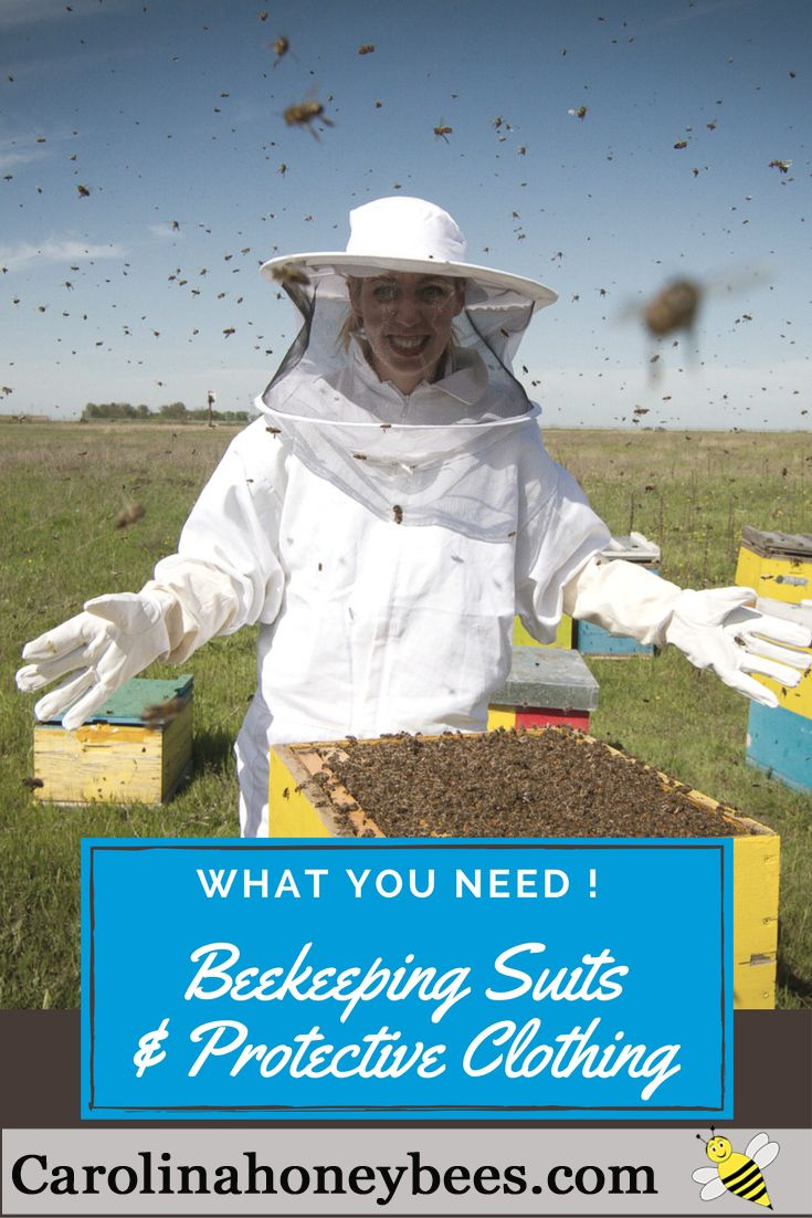 7 Ideas for Bee Suits and Protective clothing.  What you need, what you want, what you can live without. via @https://www.pinterest.com/carolinahoneyb