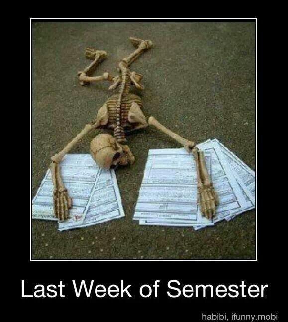 I hate Final exams!
