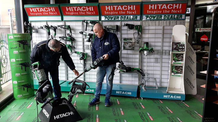 Il nostro rivenditore Mi.Ba di Atripalda (AV) condivide con noi la sua esposizione dei prodotti Hitachi