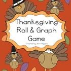 Here is a fun way to add some math fun into your Thanksgiving activities!  This is a ready to go math center - print the dice (laminate if you wish...
