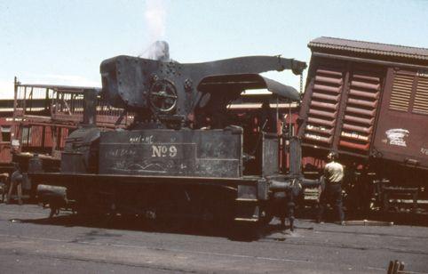 No 9 Steam Crane, North Melbourne