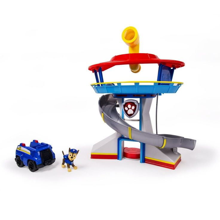 Keep a watch out for trouble with this Paw Patrol Look-out Playset. If your kids are fans of the TV show they will absolutely love this playset. You can't pass up this Paw Patrol Look-out Playset at t
