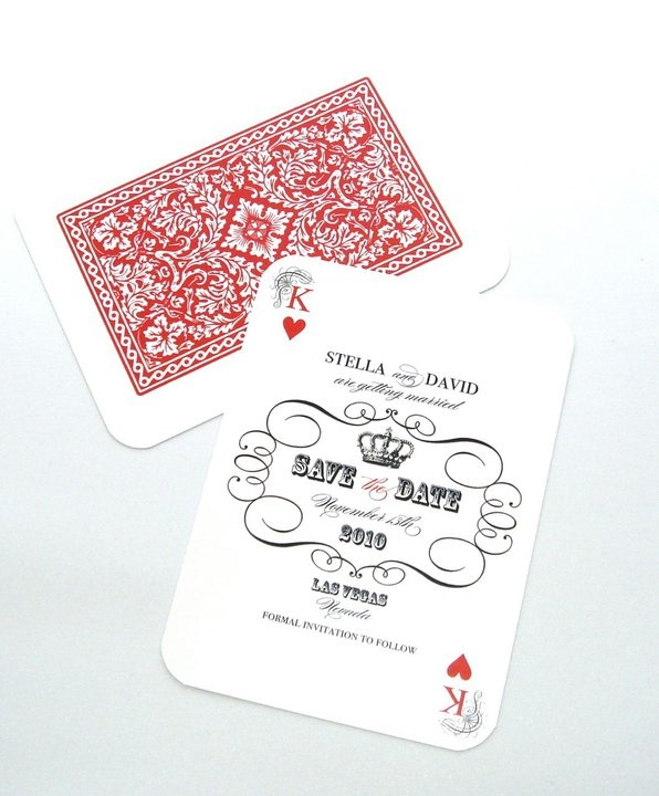 Save the date cards-clever.