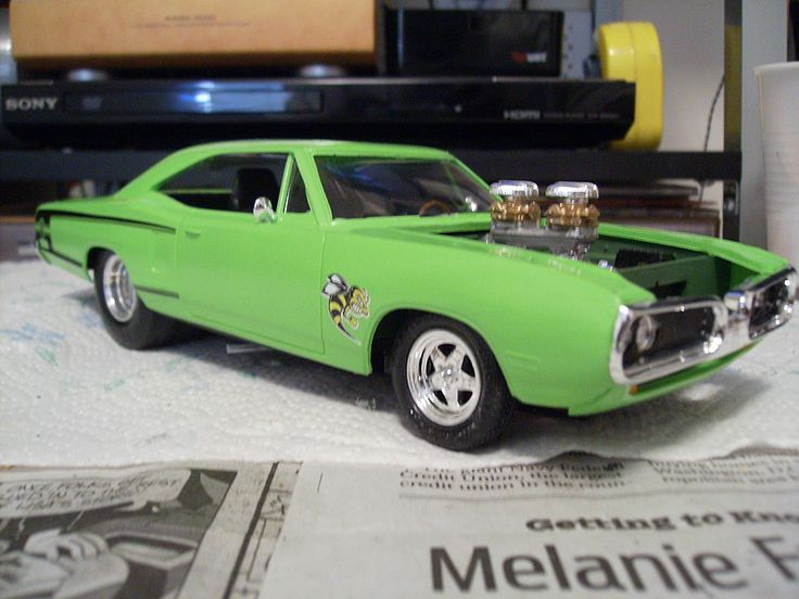 1/25 '70 Dirty Donny Dodge Coronet Pro Street (amtamt806/12) AMT Plastic Model Cars Trucks Vehicles 1:20-1:29 Scale