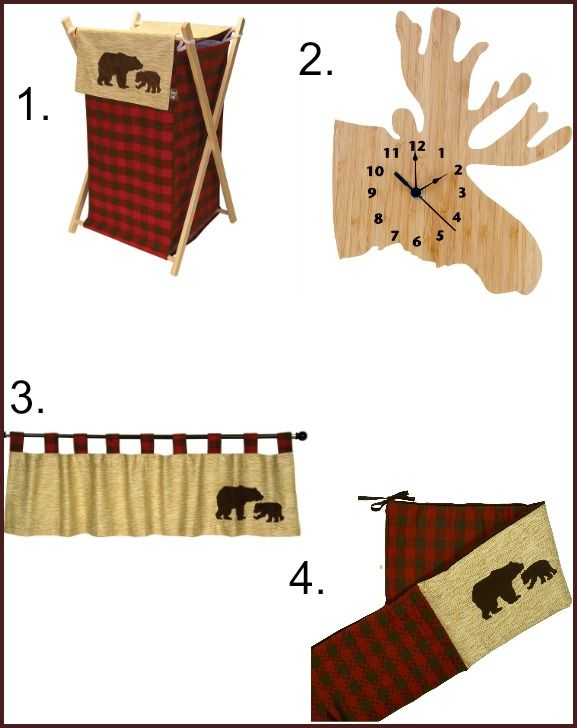 Northwoods Rustic Cabin Nursery Collection Decor Children S Bedroom Pinterest And Baby