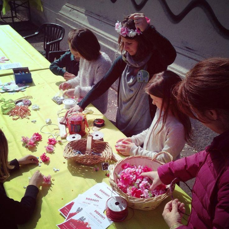 Flora's crown workshop