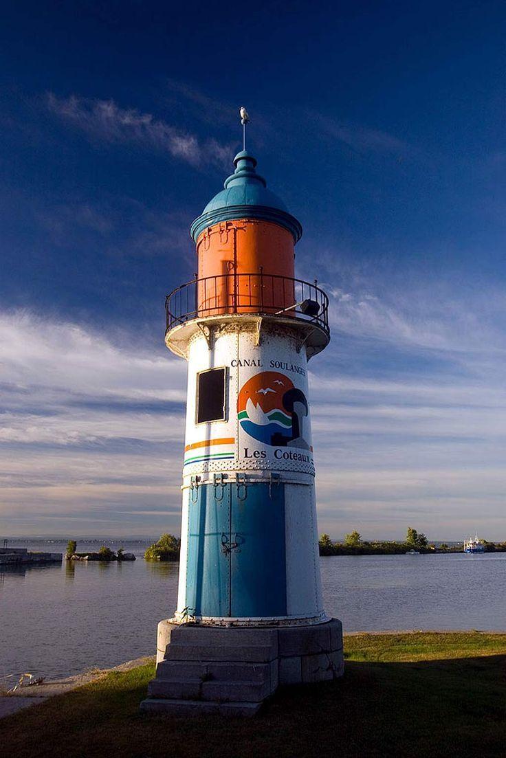 Coteaux Du Lac Lighthouse, Quebec