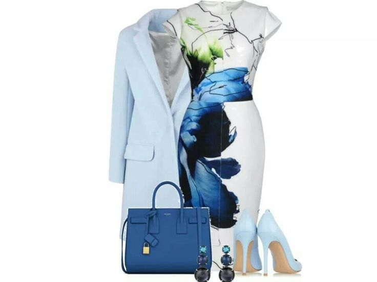Love the multiple shades of blue!