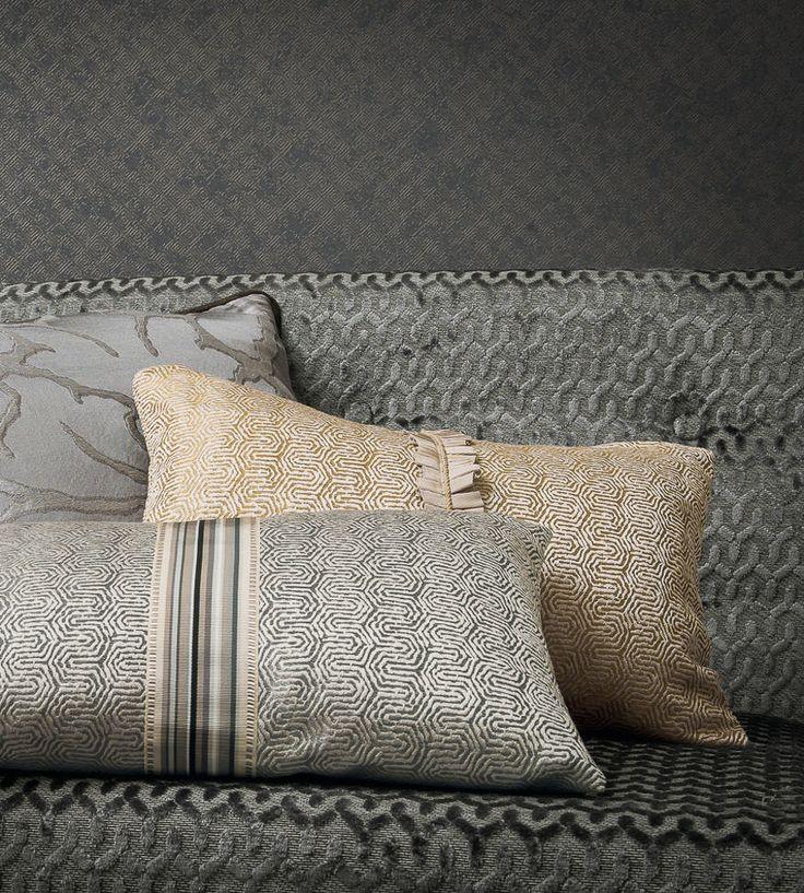 Metallics   Jim Fabric by Casamance   Jane Clayton