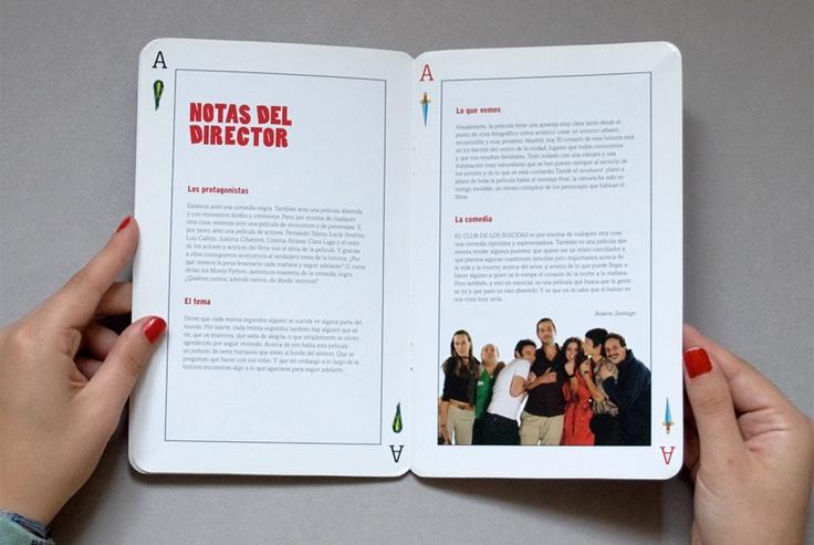 Pressbook del film EL CLUB DE LOS SUICIDAS detalle 1