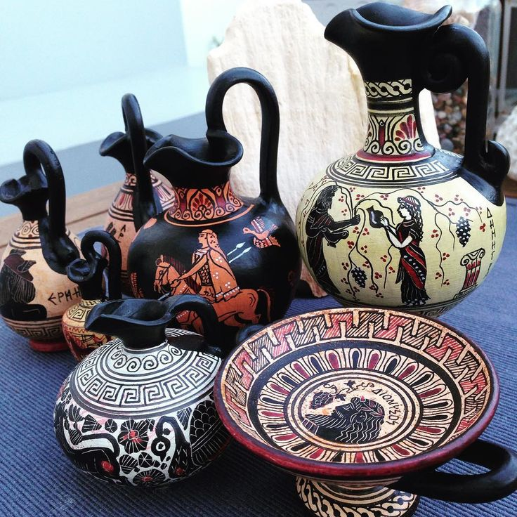 Ready to ship  ...our first orders! thank you!  Discover the world of ancient Greek art with wonderful handmade ceramics on www.etsy.com/shop/AcropolisGallery