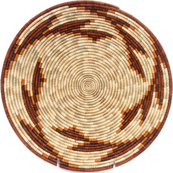 African Basket - Uganda - Rwenzori Bowl - 11 Inches Across - #48994