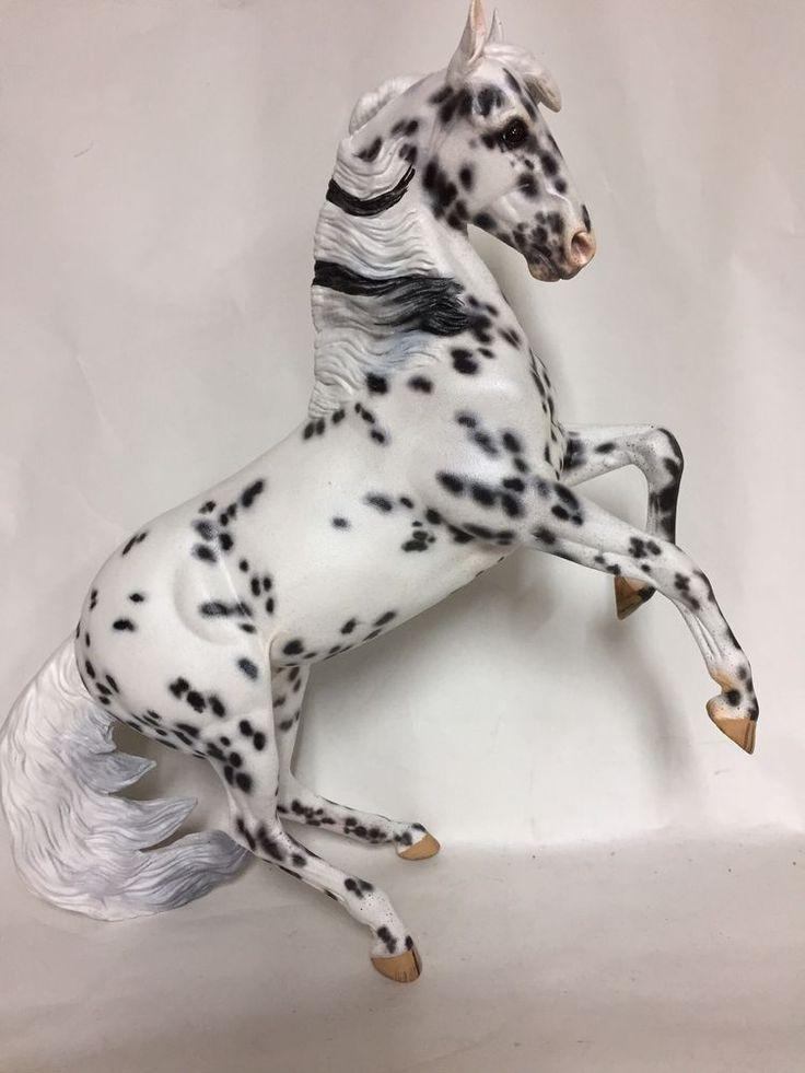 Breyer Custom Painted Desatado to Leopardy Appy - NAN qalified  | eBay