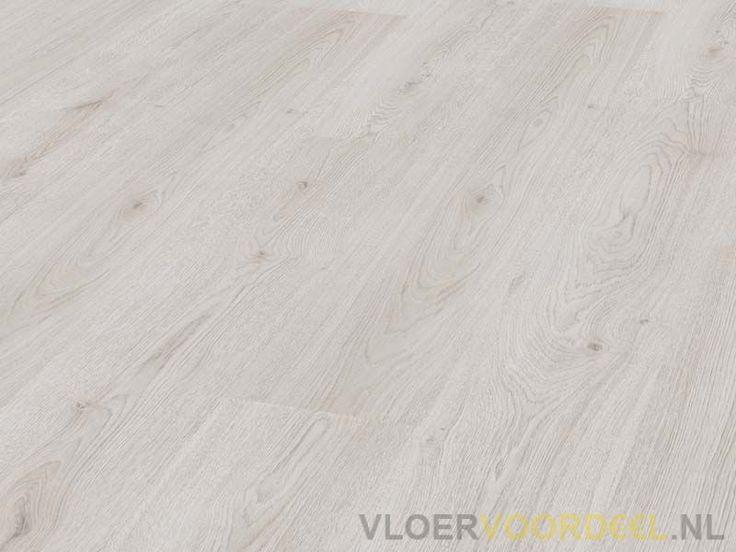 Goedkoop laminaat Basic wit eiken 3201 €5,99 | Vloervoordeel