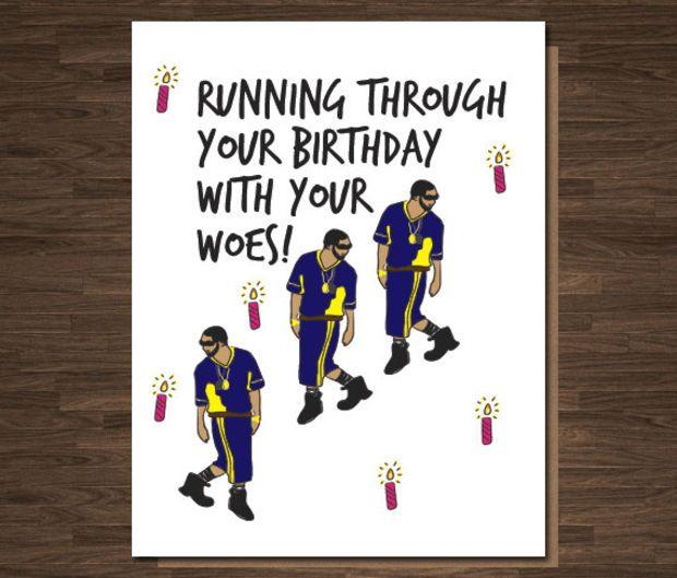 Drake Birthday Card   Lol!!!!!