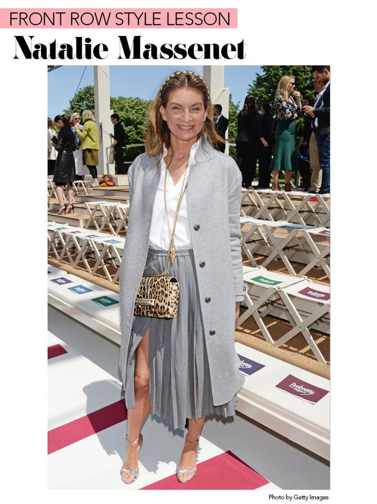 Front Row Style Lesson: Natalie Massenet
