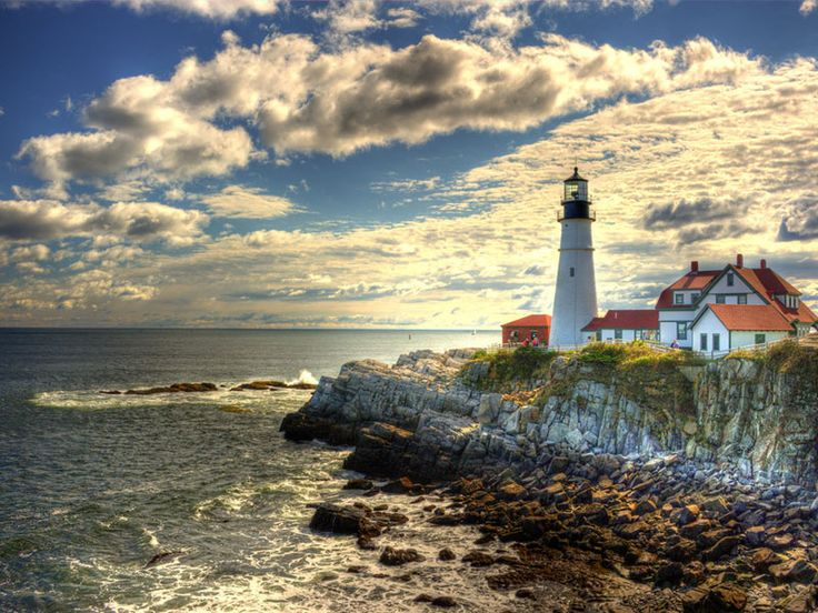 68 best light houses images on pinterest light house for Most beautiful lighthouses in the us