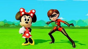 Мультик игра для детей приключения Микки Маус, Минни Маус и Тачки Машинки Дисней Mickey & Minnie - YouTube