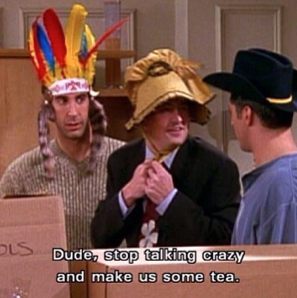 Ross Joey and Chandler Friends tv show Funny quotes
