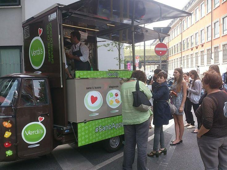 #APEristoro in via #Tortona, a #Milano! Tutti i martedì e i giovedì dalle ore 12 alle ore 15 #streetfood #wellness #SanoAppetito