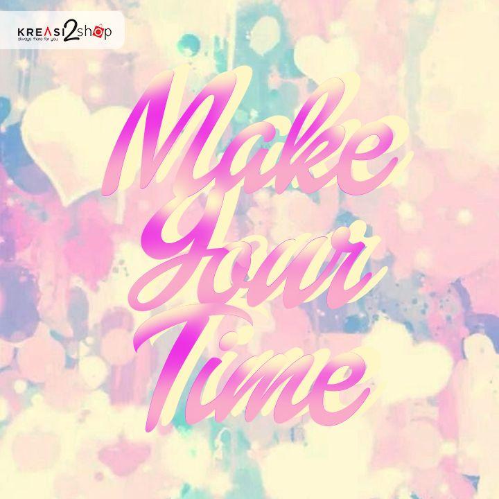Hi girls, sebuah mood yang baik nyata nya sulit untuk dimiliki setiap orang. untuk itu bila mood kalian masih baik-baik saja, pertahankanlah hal tersebut. Ada saat nya kalian membutuhkan waktu sendiri untuk manjakan diri dan melakukan hal yang kalian sukai. Kalian bisa memasak makanan kesukaan kalian atau orang tercinta, memancing dan melihat pemandangan luas, pergi ke salon untuk merawat diri, dan masih banyak hal lagi yang mampu kalian lakukan. make your time :) #kreasi2shop #kreasilovers