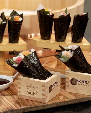 Nobu's Hand Rolls Recipe | Cooking | How To | Martha Stewart Recipes