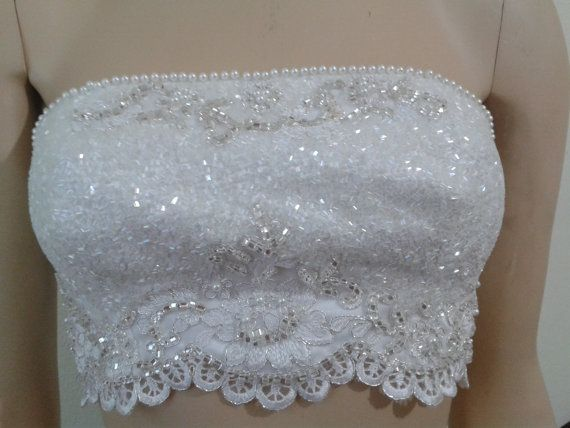 Hey, I found this really awesome Etsy listing at https://www.etsy.com/listing/485091707/white-sateen-emroidery-bustier