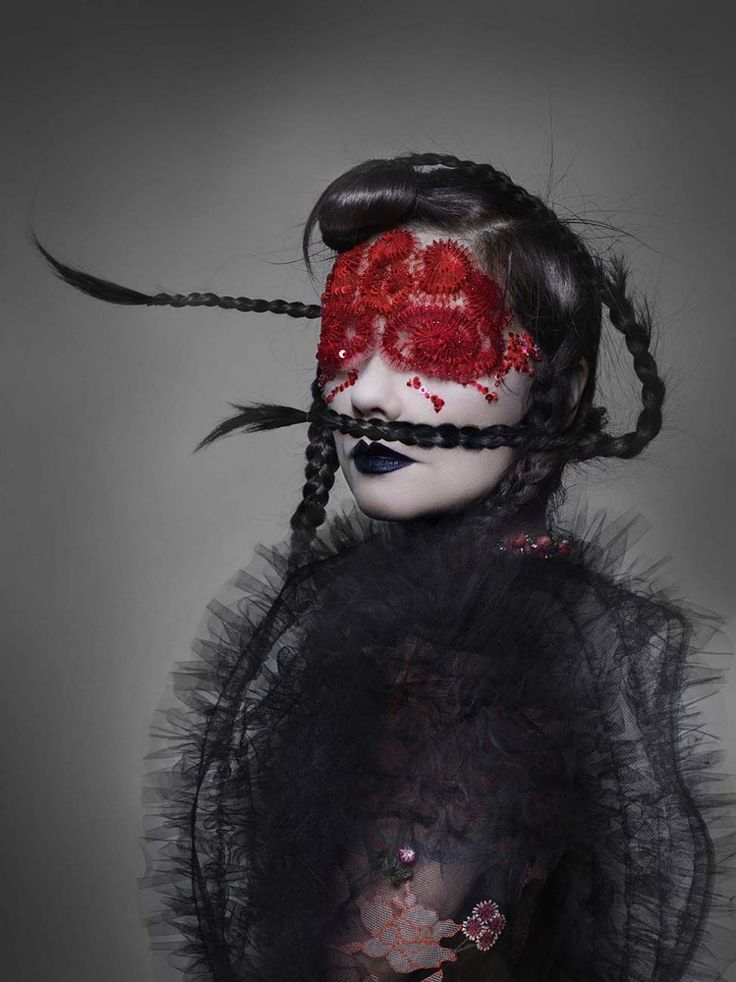 See all the images from Nick Knight and Katy England's cover story for AnOther Magazine S/S 16 featuring Bjork in masks by Peter Philips