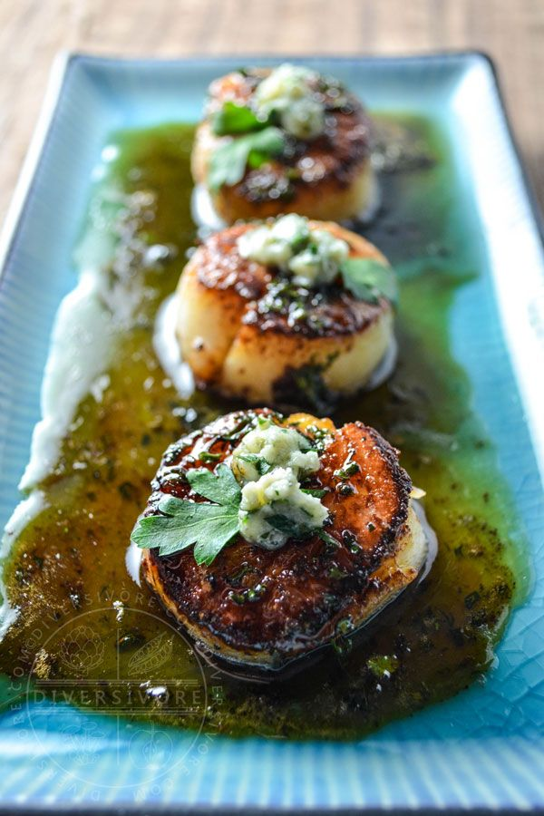 Delicious, elegant small plates and appetizers can have a ton of impact without being complicated. With a little organization and attention to detail, these seared scallops are actually quite simple.
