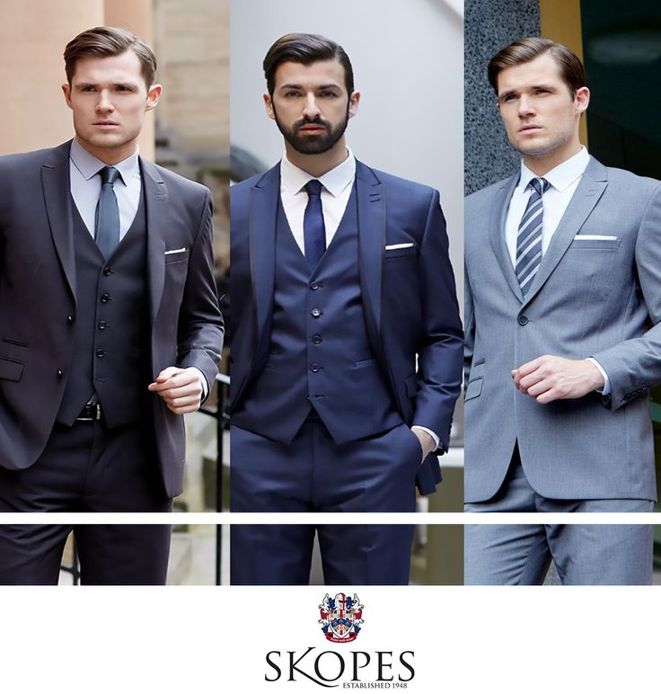 Each of these big and tall suits are fashionable, well-made and look great.