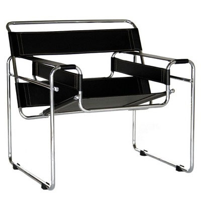 2 wassily in the office. not by knoll, but by another italian company (arrben). paid us $26 each