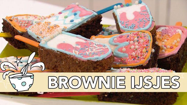 Jill - DIY: Brownie ijsjes maken