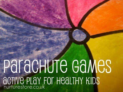 parachute play ideas