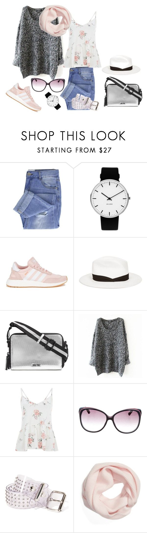 """Еl Pacifico#NEVa"" by explorer-15096452111 ❤ liked on Polyvore featuring Taya, Rosendahl, adidas, rag & bone, Nine West, Gucci, Funk Plus and Halogen"