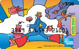 American Express | peter max 100 USD