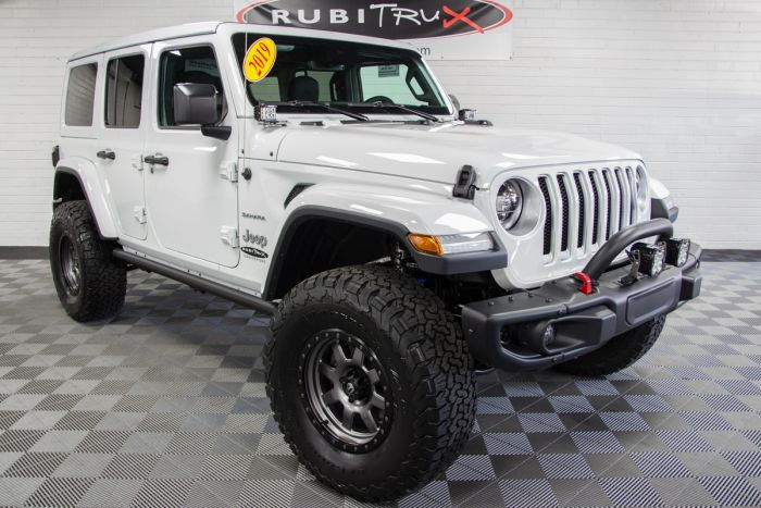 2019 Jeep Wrangler Sahara Unlimited Jl Bright White Jeep