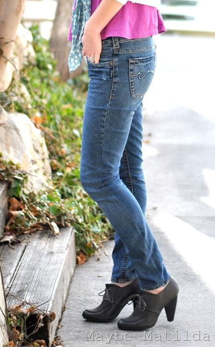 how to turn bootcut jeans into straight leg without sewing
