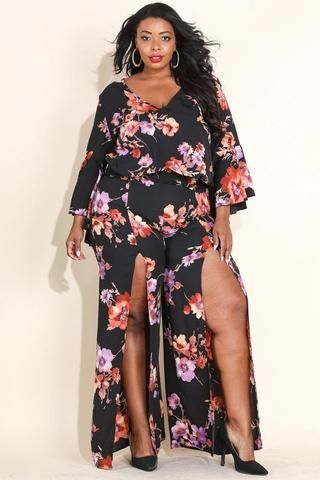 387ab5302761e5 ... Double Slit Pant Set Item . Plus Size Lace Up Foiled Animal Print  Bodycon Dress – Plussizefix