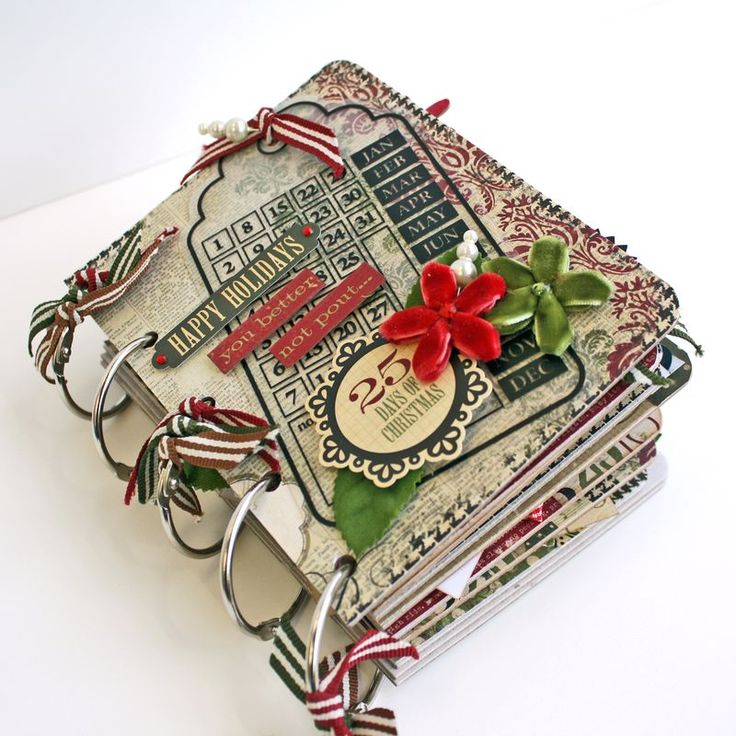 Mini album for recording Christmas stuff... a bit bigger than last year's paperbag books...More ambitious so need to start sooner!
