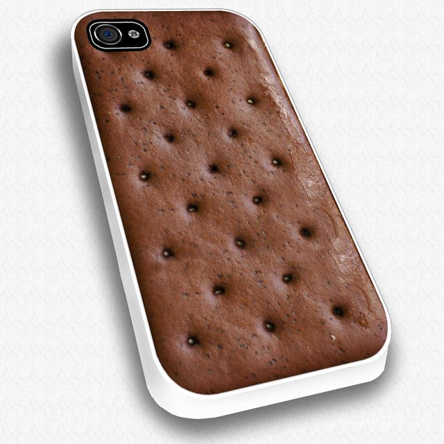 i would be tempted to eat the phone: Iphone Cases, Iphone 4S, Stuff, Sandwiches Iphone,  Sweet Potatoes, Ice Cream Sandwiches, Phones Cases, Ocarina, Icecream
