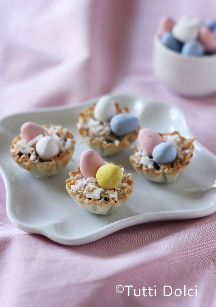 Cadbury Easter Egg Phyllo Cups | Tutti Dolci