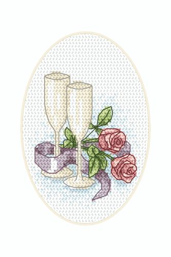 free cross stitch wedding patterns | Do You like this picture? Recommend it!