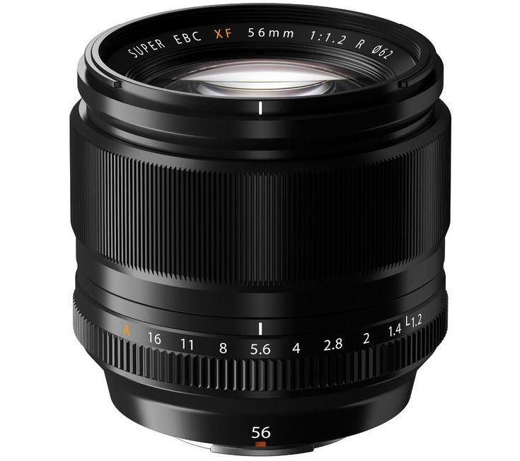 FUJIFILM  Fujinon XF 56 mm f/1.2 IF Standard Lens Price: £ 779.00 This Fujifilm Fujinon XF 56 mm f/1.2 IF Telephoto Lens is a fantastic portraiture and close-up photography tool for your compact system camera. Large aperture for excellent results This autofocus lens has been carefully designed to provide excellent low light functionality and is the fastest and brightest lens for digital...
