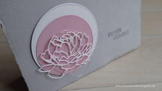 KunstHandWerk im Dorf: Nochmals rosa - grau