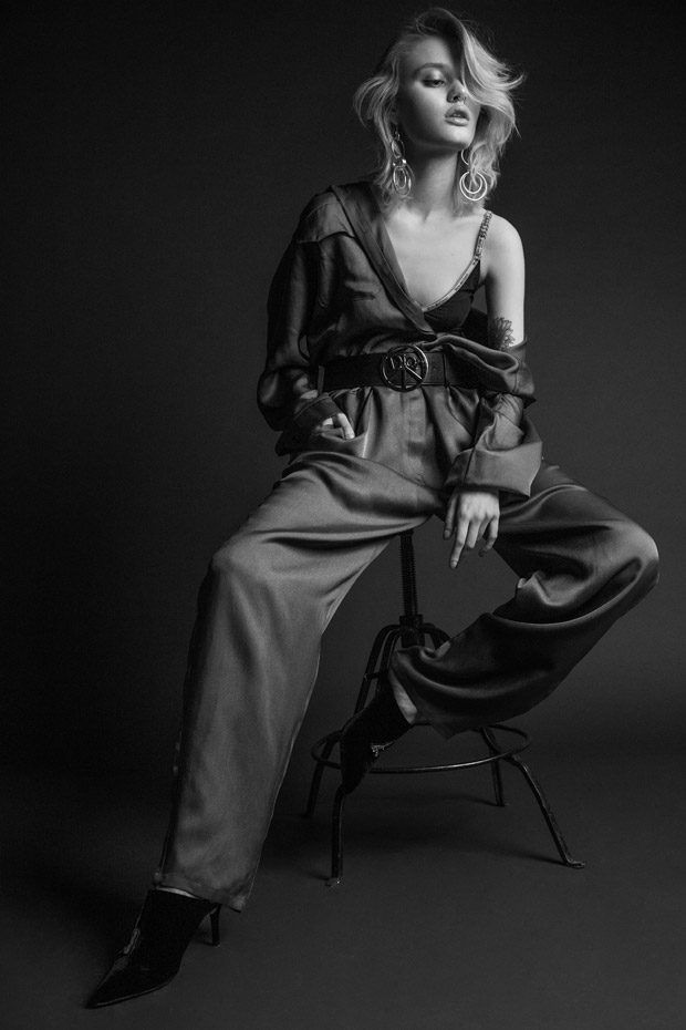 The stunning Nicole Gregorczuk stars in the latest DESIGN SCENE STYLE exclusive story captured by fashion photography duo Paulina Wesolowska & Lukasz Zylka.