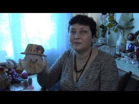 Домовой копилка и оберег своими руками. ХббиМаркет#14 выпуск - YouTube
