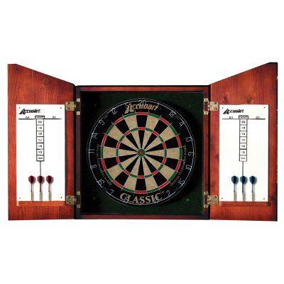 Accudart Union Jack Bristle Dart Board Complete Set - D4223