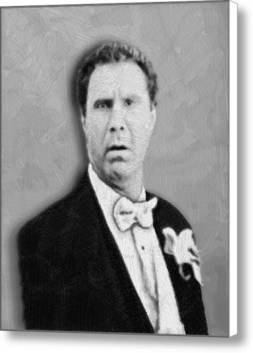Will Ferrell Old School  Canvas Print / Canvas Art By Tony Rubino